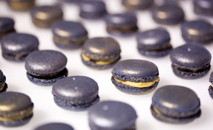 Foie Gras Macarons  Picture by Ed Dixon Food Design