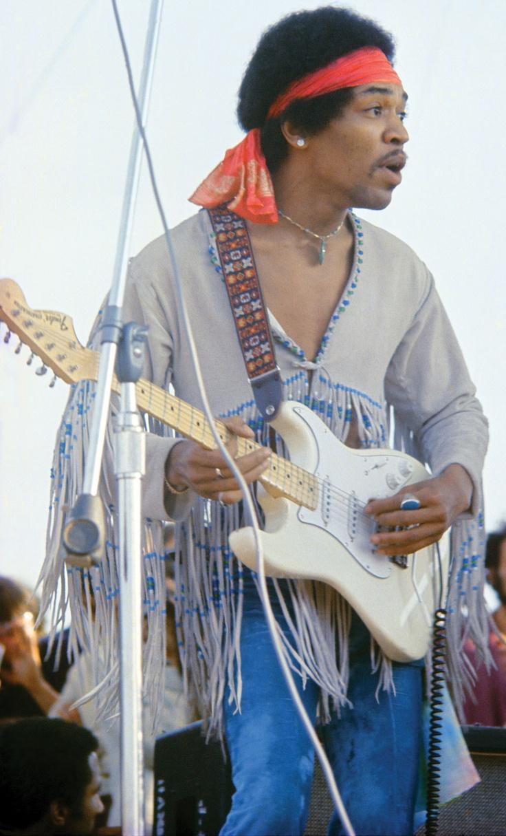 Jimi Hendrix @ Woodstock  17th August 1969