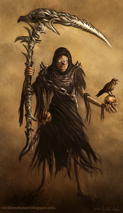 Grim Reaper by Mick2006.deviantart.com on @deviantART