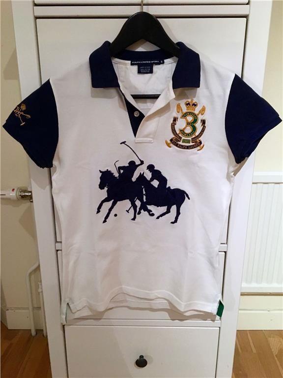 Ralph Laurent - piké t-shirt - dam strl x-small 199 kr
