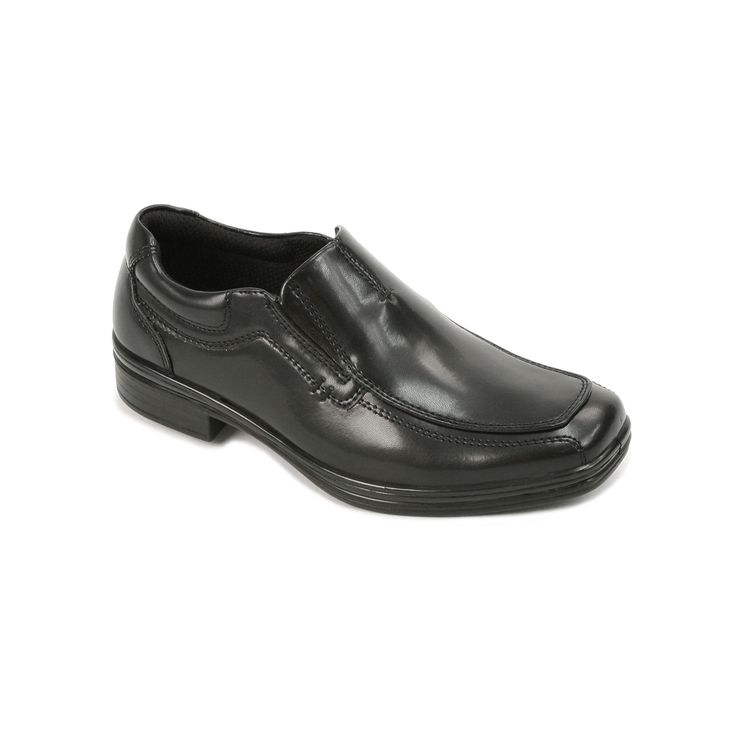 Deer Stags Wise Boys' Dress Loafers, Boy's, Size: medium (7), Black, Durable