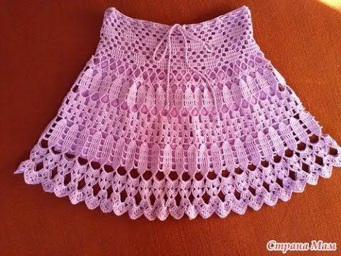 Crochet Patterns| for free |crochet skirt| 1523