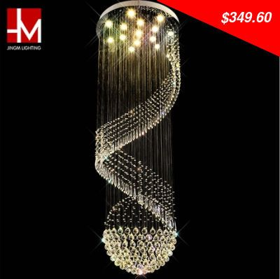 This item is now available in our shop. 3W G10 Led modern  crystal  chandelier crystal stair pendant lamp villa lamps diameter 80cm,height 300cm - $349.60 http://shoppingfestival3.org/products/3w-g10-led-modern-crystal-chandelier-crystal-stair-pendant-lamp-villa-lamps-diameter-80cmheight-300cm/