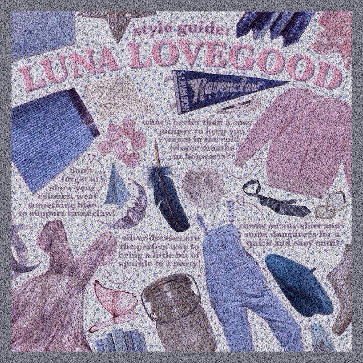 sunvsstars | Luna lovegood, Style guides, Instagram