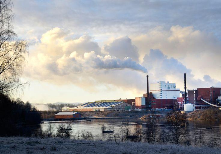Stora Enso pappersbruk i Kvarnsveden har världens största och snabbaste maskin för papperstillverkning.