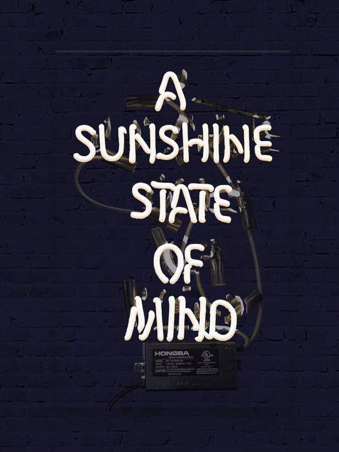 Marmont Hill Sunshine State of Mind (Neon Sign)