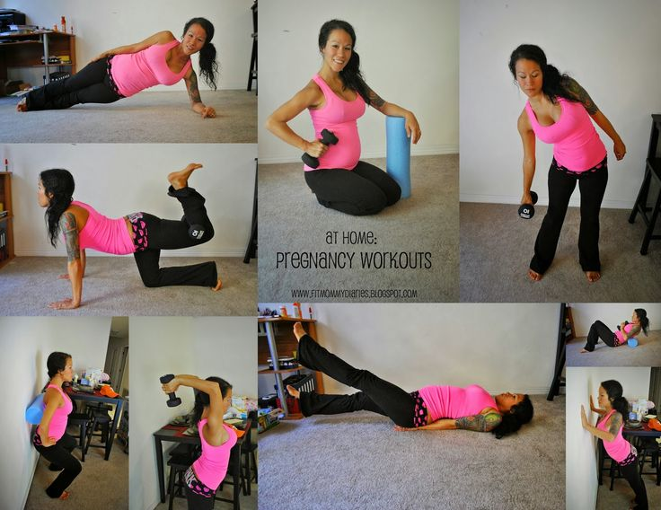 At Home Pregnancy Workouts - we love Sia and think these are excellent for expectant moms!