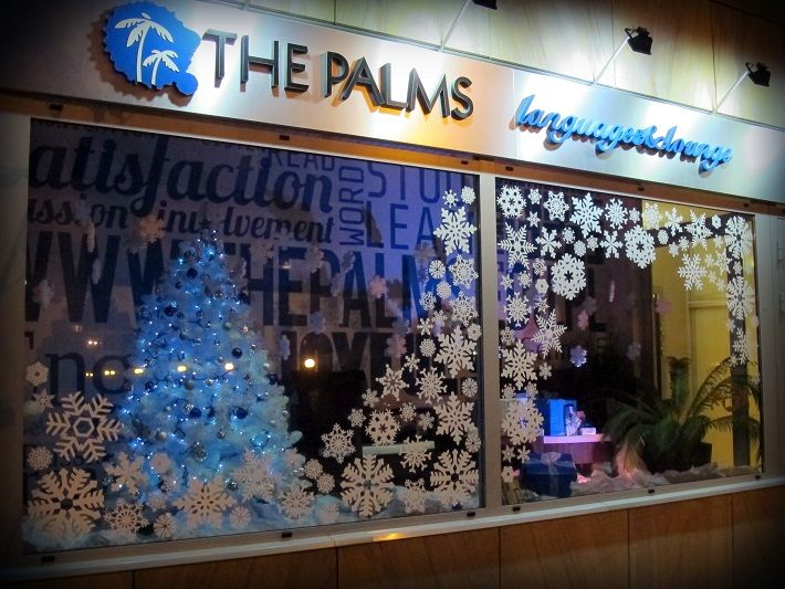 #window #display #inspiration #windowdesign  #snowflakes #window #winter #xmas