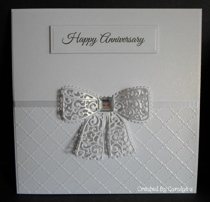 TATTERED LACE BOW DIE X | cards | Pinterest