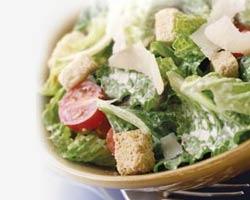 Cæsarsalat opskrift med kylling.