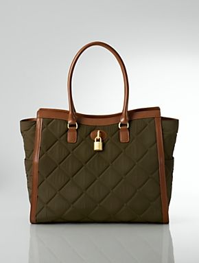 Talbots - Quilted Nylon Tote | Quilted |