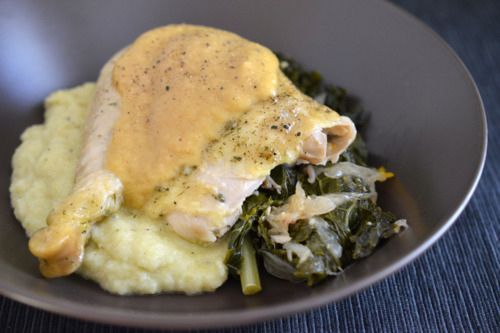 Slow Cooker Roast Chicken And Gravy | Award-Winning Paleo Recipes | Nom Nom Paleo® - got rave reviews! Must try this!