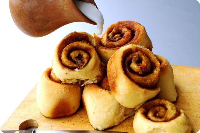 Baked Louie's: Cinnamon rolls