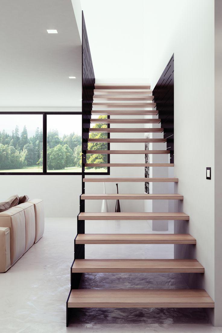 Il concetto di scala a giorno secondo #Interbau #styling #design #madeinitaly