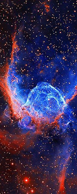 ˚Thor's Helmet Emission Nebula NGC 2359