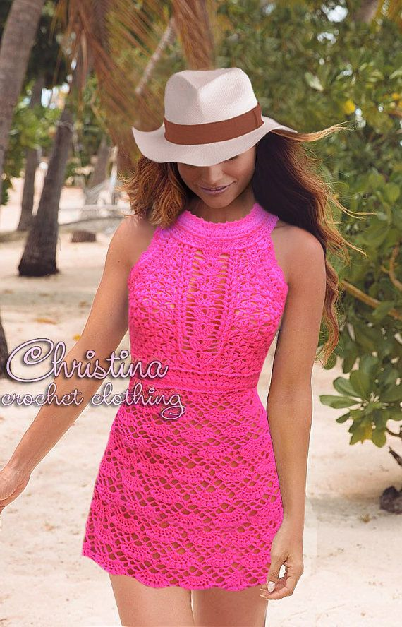 Crochet club party wedding occasion sexy by CrochetLaceClothing