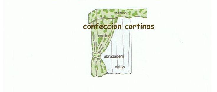 13 best proyectos que intentar images on pinterest for Confeccion cortinas