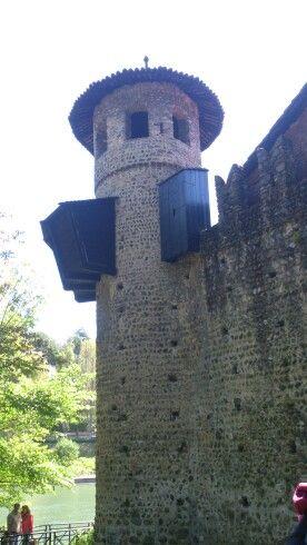 Villaggio medievale, parco del Valentino, Torino, Piemonte
