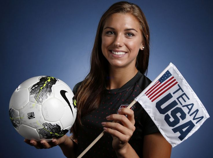 Alexandra Morgan Carrasco, commonly known as Alex Morgan, (born July 2, 1989) is an American soccer player and Olympic gold medalist. Description from 10news.org. I searched for this on bing.com/images