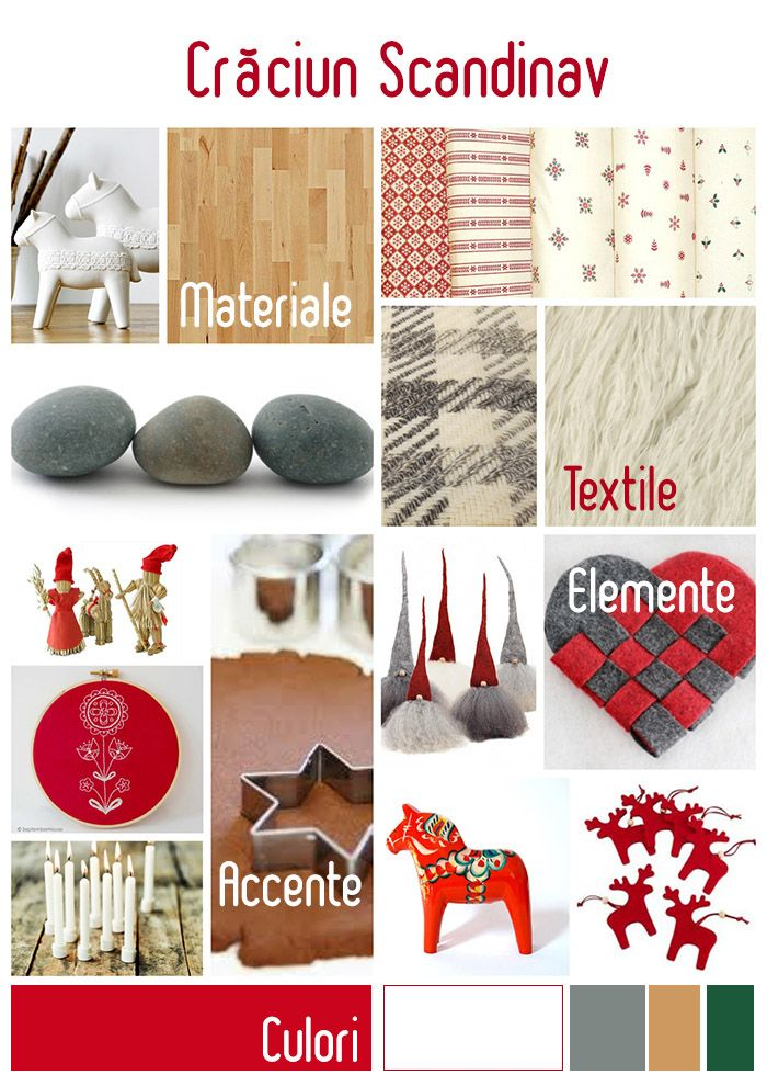 Scandinavian Christmas Inspiration by Revista Atelierul