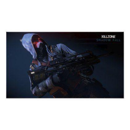 Killzone Shadow Fall Poster - fall decor diy customize special cyo