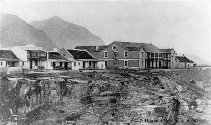 The historical Windsor Hotel in Hermanus, The original core of the building has never been altered.  She is the oldest and largest hotel in Hermanus