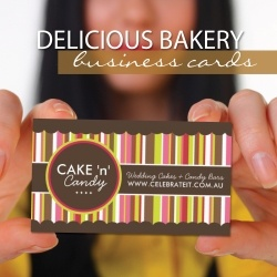 When Starting A Home Bakery Image Is Everything Your Business Card Should Represent