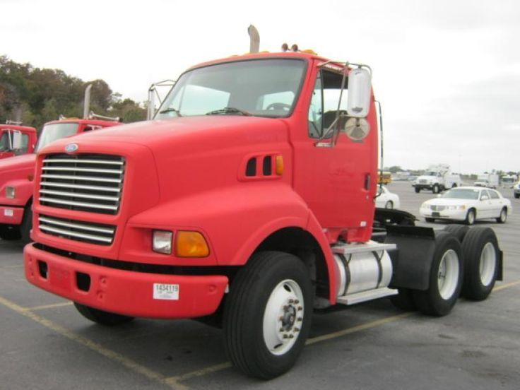 1997 Ford Lt8513 Semi Tractor Day Cab With A 3126