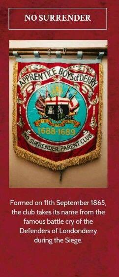 Apprentice Boys of Derry No Surrender club