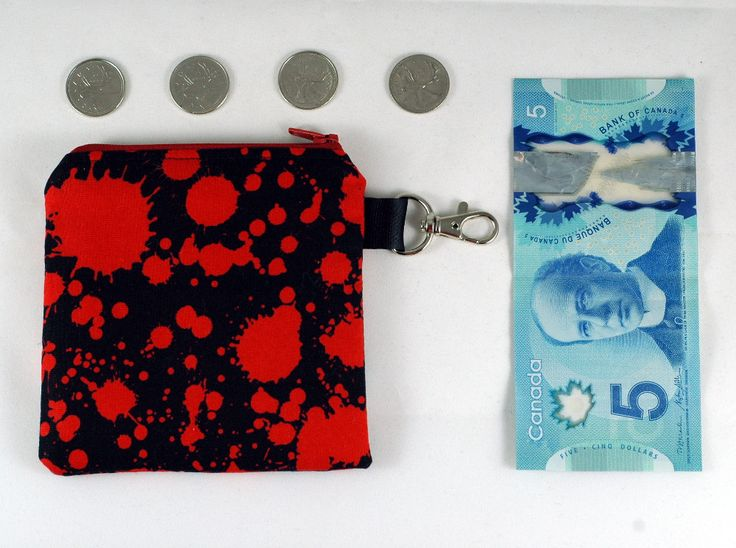 Coin Purse full of BLOOD!