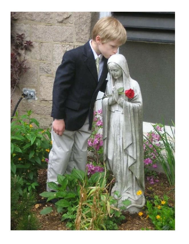 A six-year-old Protestant boy had often heard his fellow Catholics pray the Hail Mary. He liked it so much that he memorized it and pray...