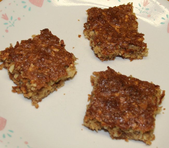 toffee bars (slices) Amish recipe | food | Pinterest