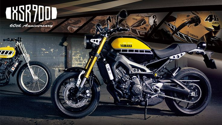 XSR900 60th Anniversaryの詳細ページです。YSP(ヤマハスポーツプラザ)のオフィシャルサイト。全国のヤマハバイク販売店の紹介や、新車・中古車の紹介などヤマハの正規ディーラーならではの情報を提供します。