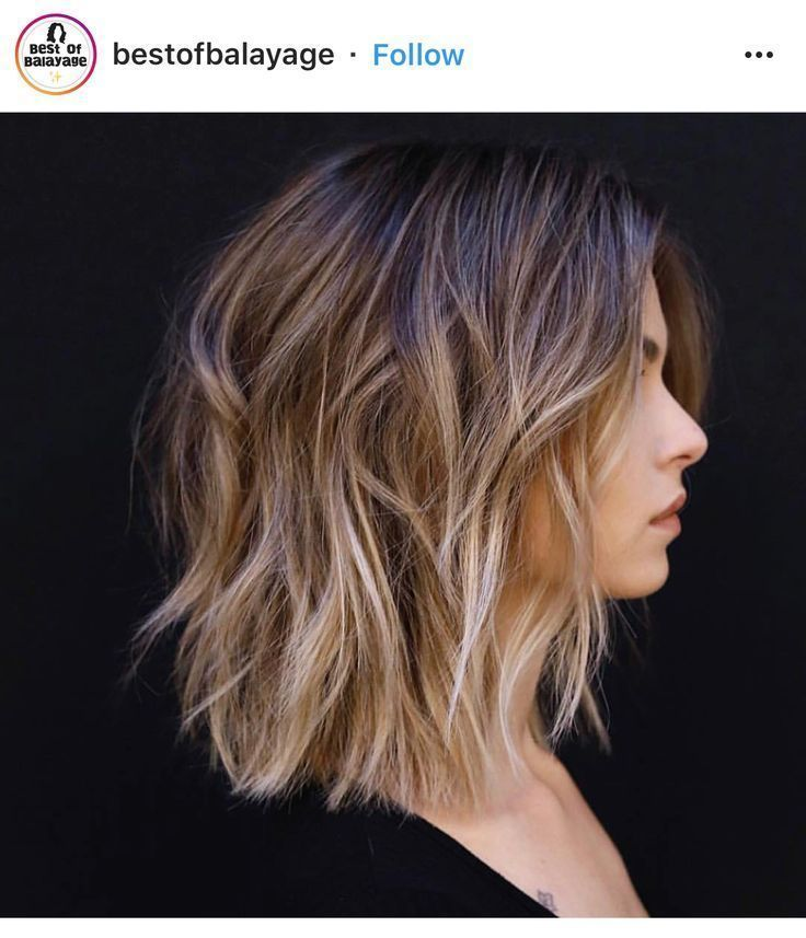 In love with the Ombré Balayage uren #frisuren # hairstyles2018frau … #balayage …