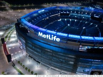 New York Giants Met LIfe Stadium