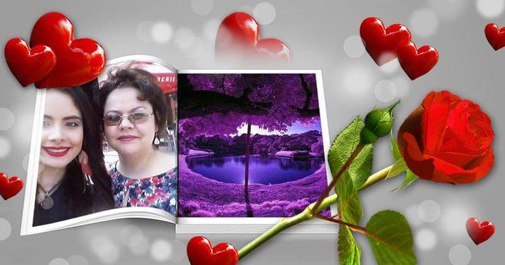 Fotomontaj cu fotografia ta, și un prieten într-o revistă.