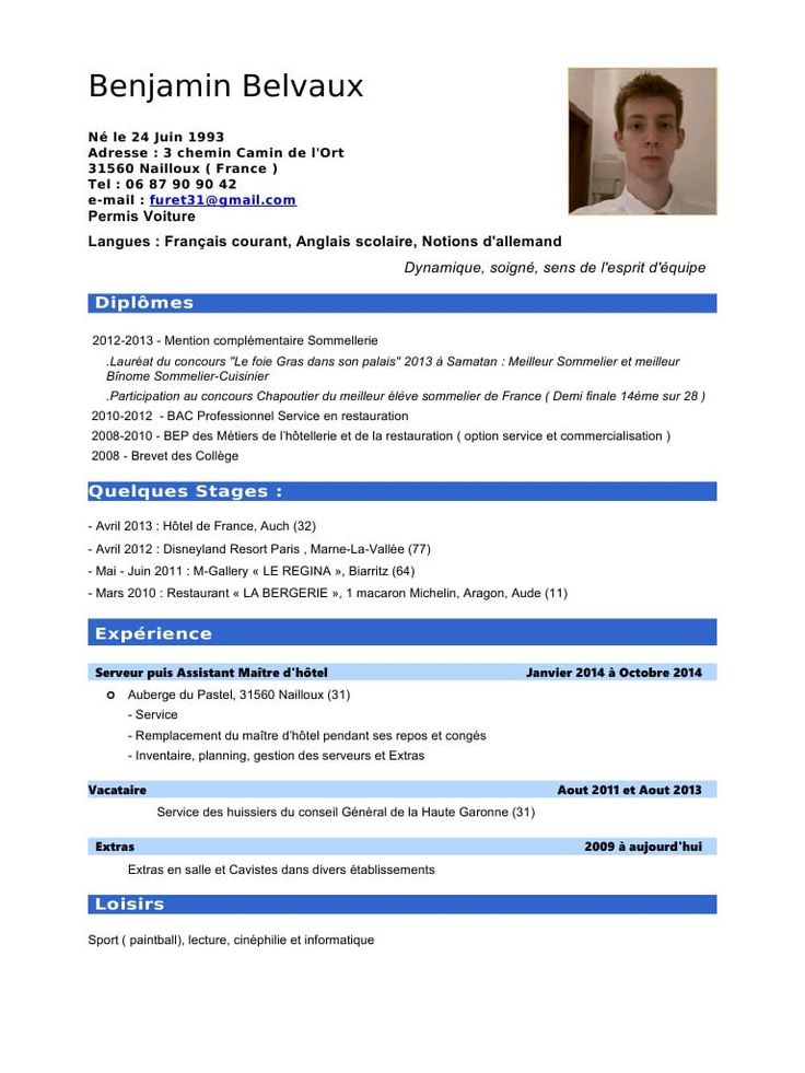modele cv infirmiere gratuit - CV Anonyme | Cv infirmier ...
