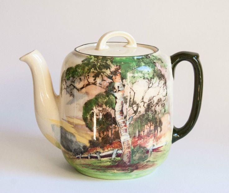Royal Doulton GUM Trees Series 5506 Teapot | eBay