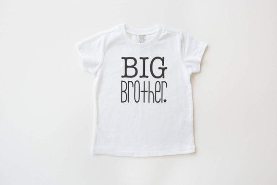 2f79cd37bf 12M - Youth white and black big brother t-shirt