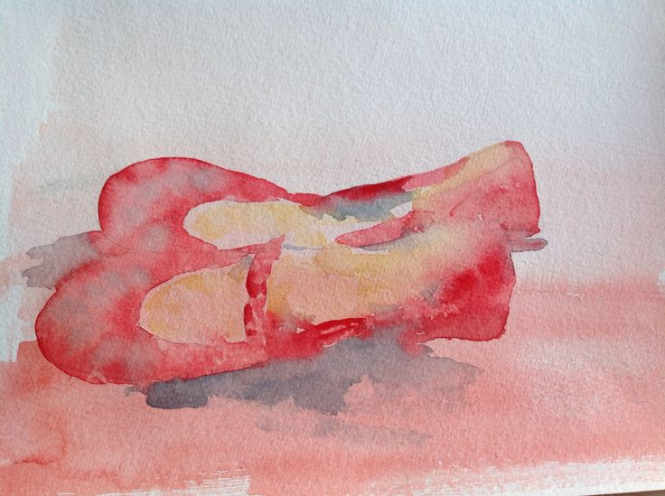 My ballerina shoes by Lisbeth Watkins