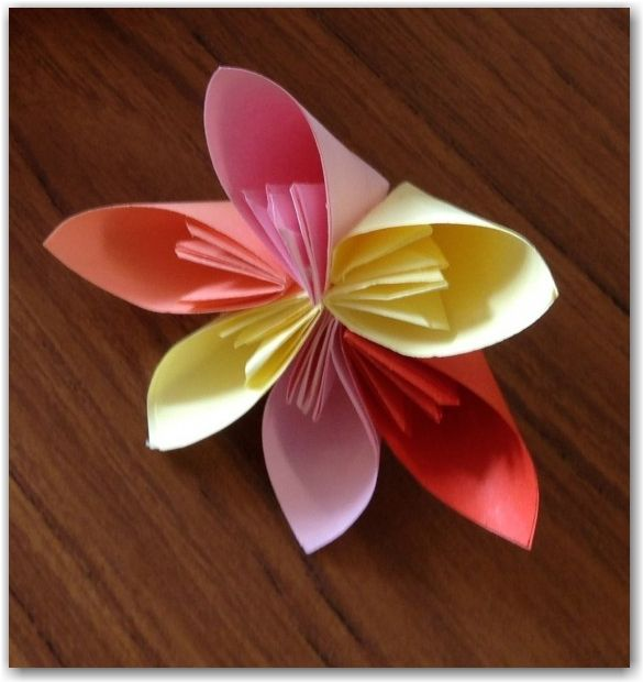 117 best origami images on pinterest paper crafts paper flowers how to make origami flowers mightylinksfo