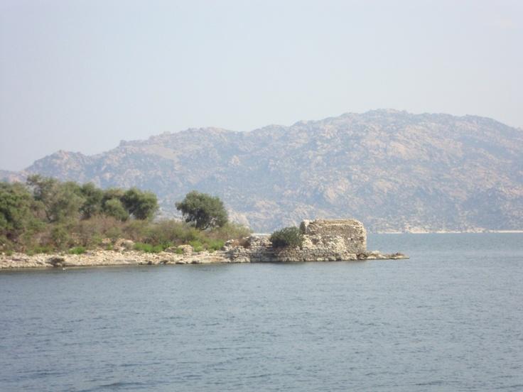 Bafa Lake is on The Aegean Coast of Turkey