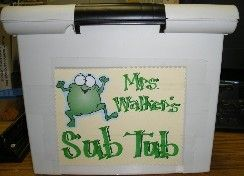Sub Tub: Be Prepared. A week of lesson plans, maps, important school info, student info, procedures, etc... to have ready for a substitute teacher.