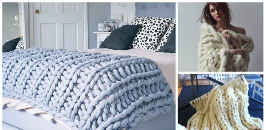 How to knit Giant Blanket