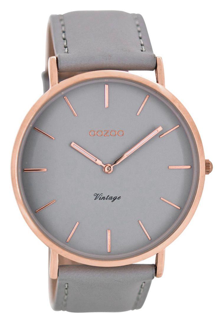 OOZOO C8130 Vintage Damenuhr mit Lederband 44 mm Grau jetzt günstig im uhrcenter Uhren-Shop bestellen - Ihr Online-Juwelier seit 1999. ☆Trusted-Shop ✓Versandkostenfrei ⚡Schneller Versand ✓Große Uhren-Auswahl ✓Kompetent ✓Kostenlose Retoure ✓30 Tage Rückgaberecht ✓Express- und Auslandslieferung möglich