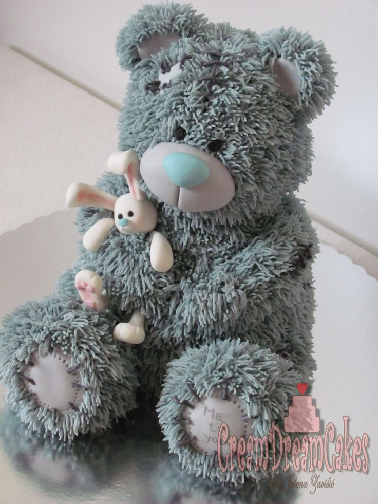 Tatty Teddy Bear Cake...this would be too precious to eat