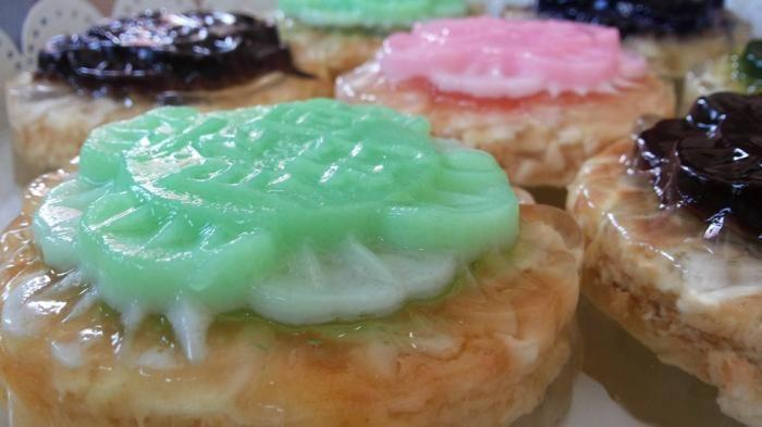 Mooncake Layer - Kreasi Kue Lembut dan Kenyal Manis Ini Bisa Bikin Stresmu Kabur…