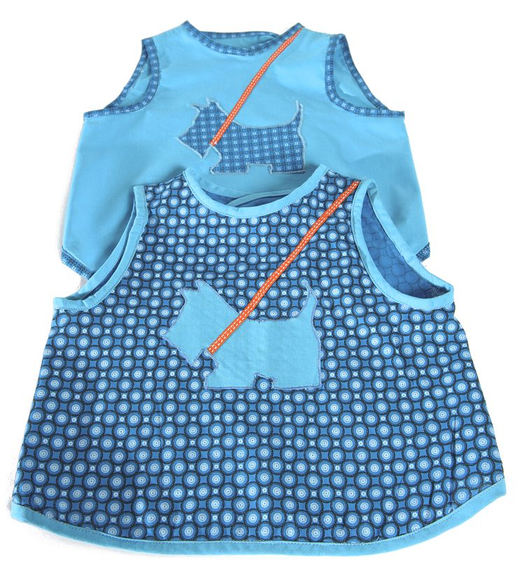 Pinafore Bibs by l'Éléphant Zébré - sewing kit on sale