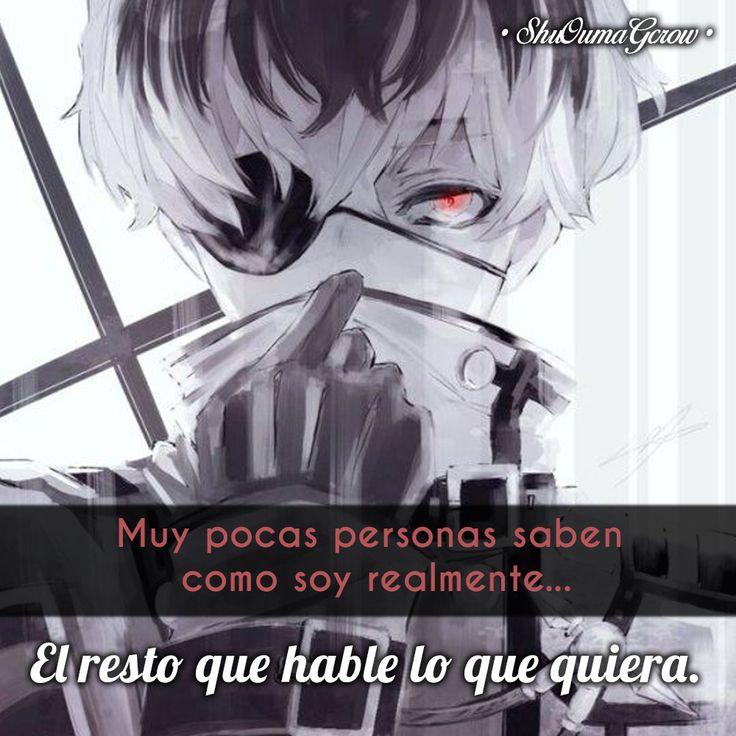 Muy pocas personas #ShuOumaGcrow #Anime #Frases_anime #frases