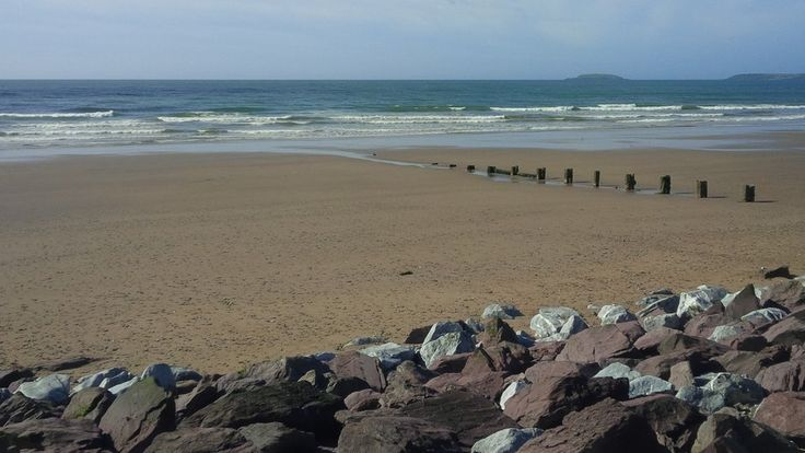 A view of Youghal Beach, Co Cork (Pic: Tracey Kennedy)